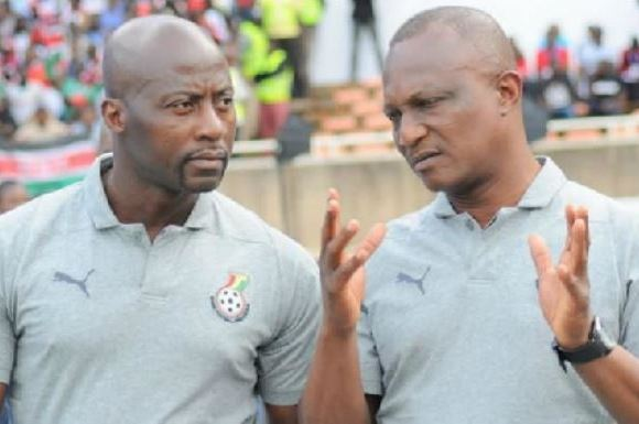 Ibrahim Tanko and Kwesi Appiah