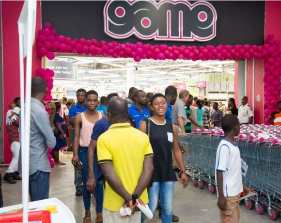 One of the two GAME Stores currently operating in Ghana.