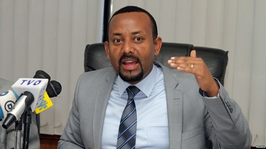 Abiy Ahmed, Ethiopia Prime Minister