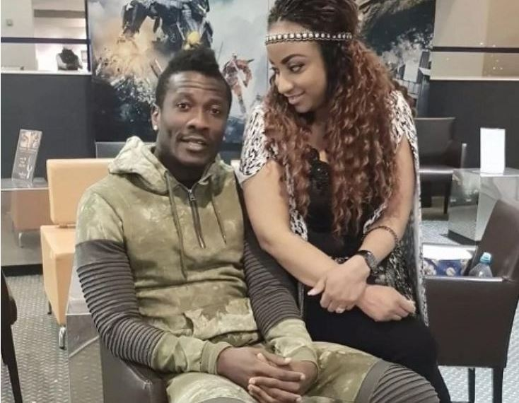 Asamoah Gyan and Wife Gifty