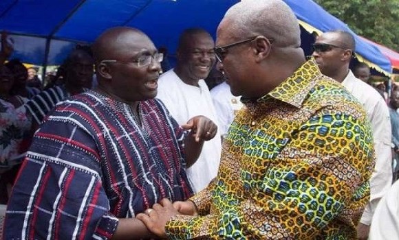 Bawumia and Mahama