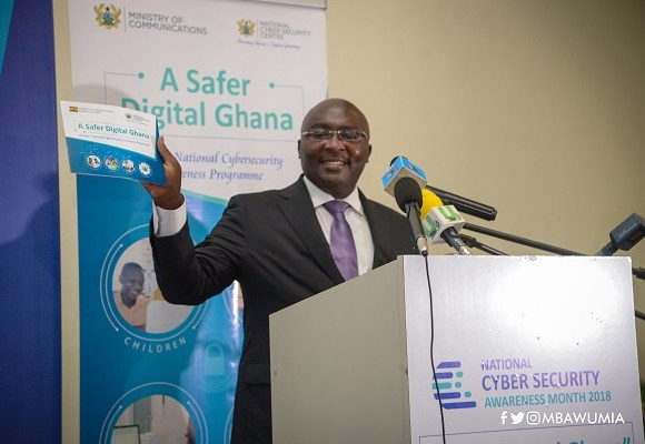 Bawumia on Cyber crime