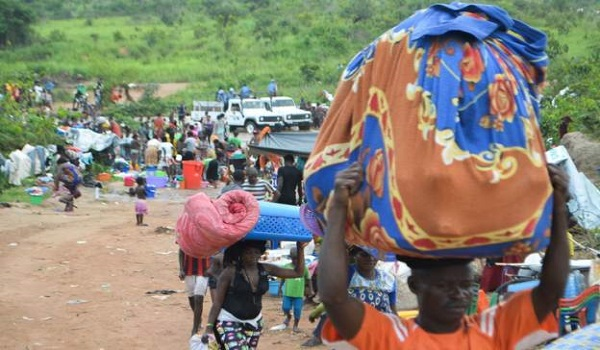 Congolese authorities say at least 28,000 of its citizens were expelled from Angola