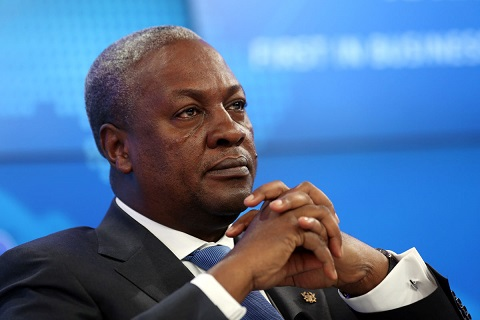 Mahama cries out