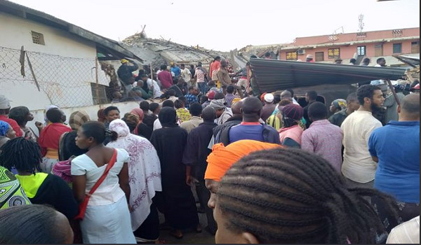 One person has died and at least 15 others have been rescued