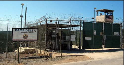 The US military's prison in Guantanamo Bay, Cuba