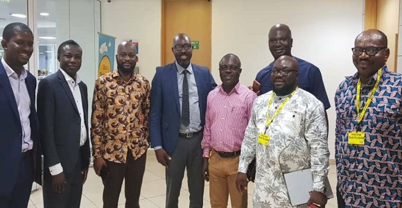 The meeting took place at the MTN Head Office in Accra