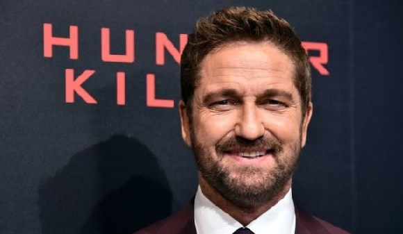 Actor Gerard Butler plays the lead role in Hunter Killer