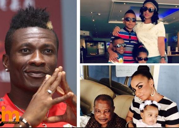 Asamoah Gyan wife and children