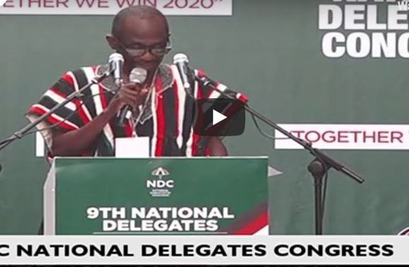 Asiedu Nketia at Congress