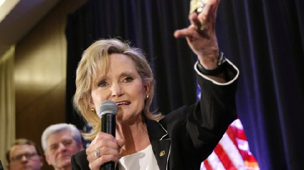 In her victory speech, Cindy Hyde-Smith promised to represent all Mississippians