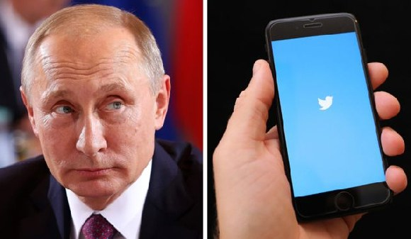 It is not yet clear who created the fake Twitter account in the name of the Russian president