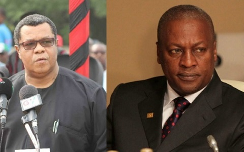Mr. Goosie Tanoh and former President Mahama are both aspiring for the flagbearship of the NDC