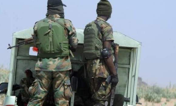 Nigeria's military is battling to end the almost decade-long insurgencyImage