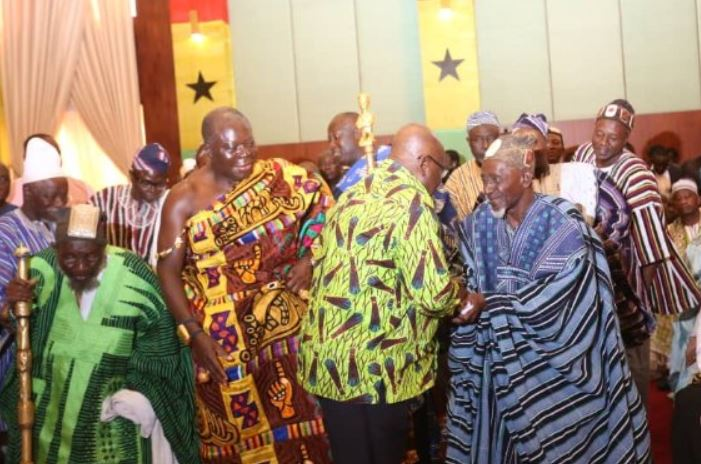 Otumfuo speaks about Dagbon crises
