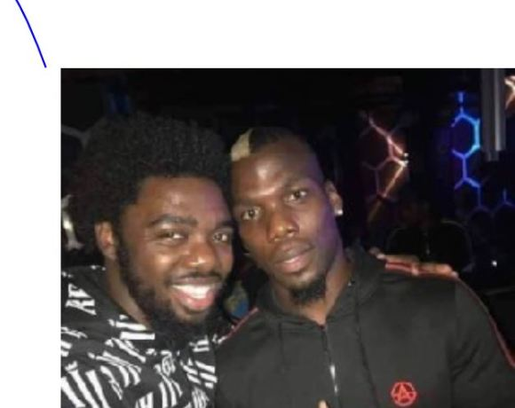 SM fan with Pogba's bro