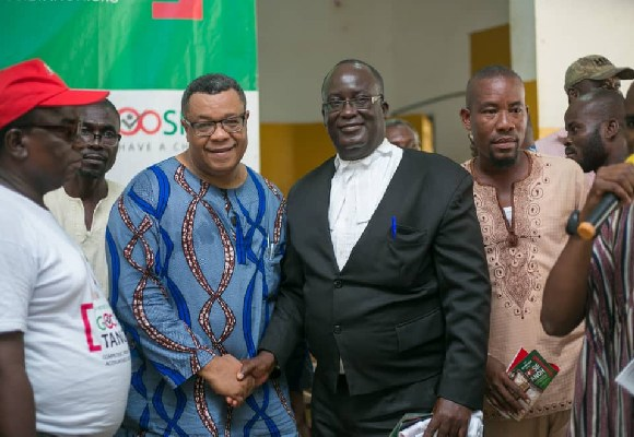 Victor Yankson is tipping Goosie Tanoh to beat all contenders for the mandate to lead NDC into 2020