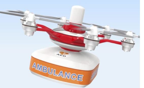 Drone for health department