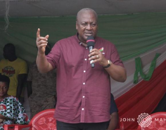 John Mahama - on Free Senoir High