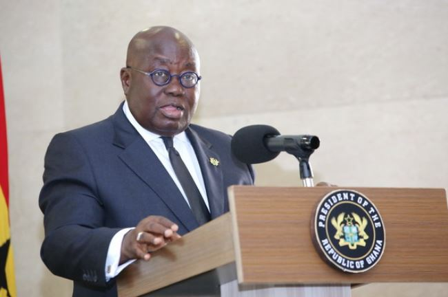 Akufo-Addo directs AG to draft bill on party militia