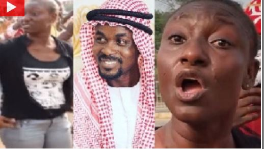 Nana Appiah and angry customers of Menzgold
