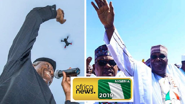 Presidential campaigns are heating up in Nigeria ahead of elections