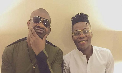 Reekado Banks and Don Jazzy