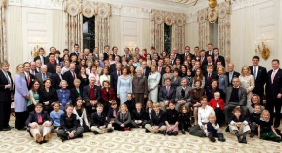The Bush family has included two presidents, two first ladies, a state governor and a senator
