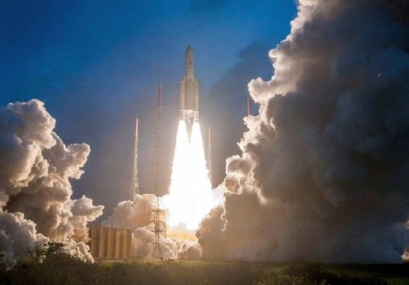The satellite was launched from the Kourou spaceport in French Guiana early on Wednesday