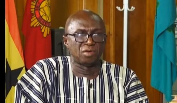 Ambrose Dery, Minister for the Interior
