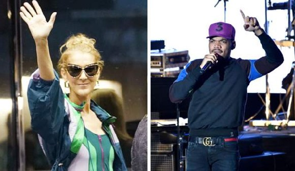 Celine Dion and Chance the Rapper