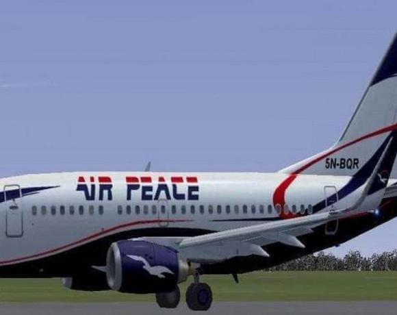 False bomb alarm on Air Peace flight to Lagos