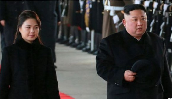 Kim Jong-un is visiting China with his wife