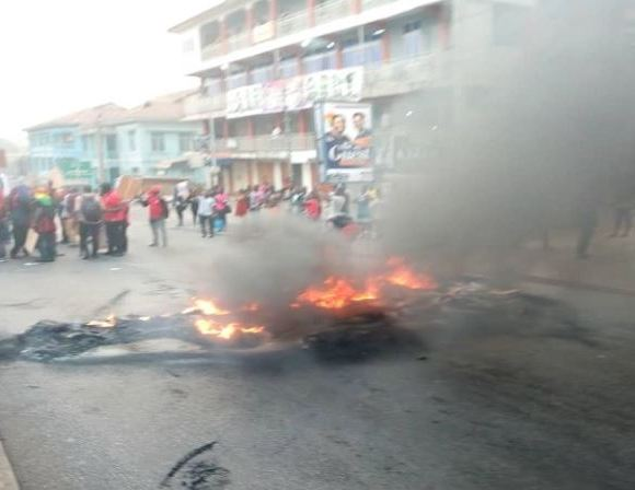 Menzgold protest in Kumasi