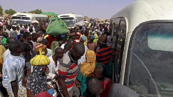 Nigerian migrants (file photo)