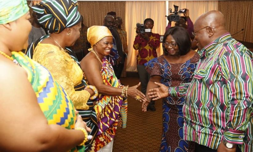 Queen mothers meet Akufo-Addo