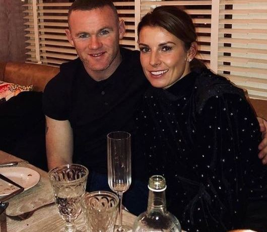 Rooney and wife Coleen