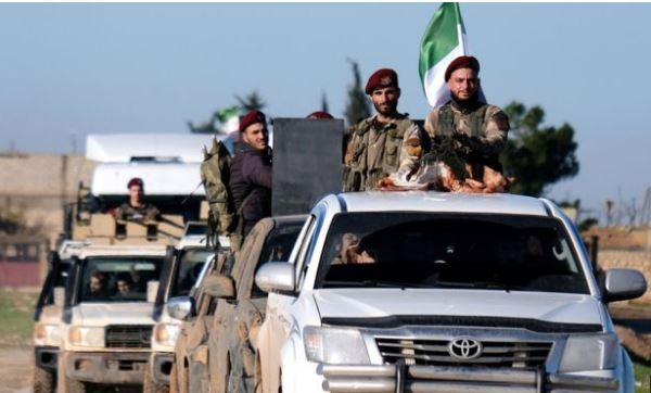 Turkish-backed forces are poised to launch an offensive against Kurdish fighters in northern Syria