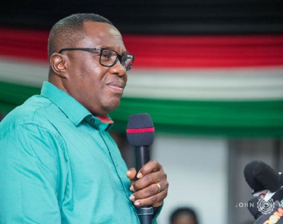 A voice believed to be NDC Chairman Samuel Ofosu Ampofo is heard on the tape