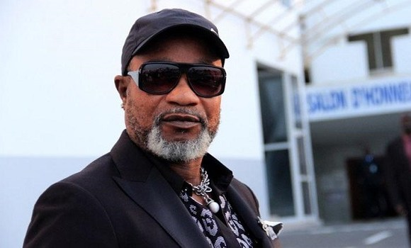 Congolese music star Koffi Olomide