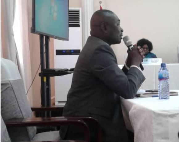 Director of Operations at the National Security, Colonel Michael Opoku