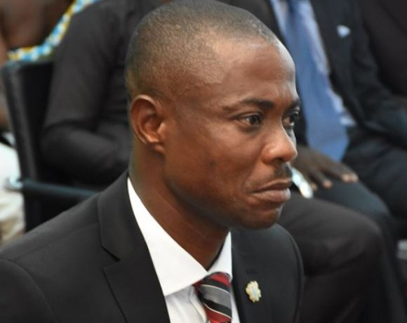 Evans Opoku-Bobie is the interim minister for the newly-created Bono East Region