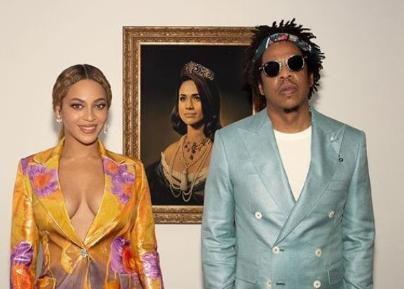 Jay Z and wife