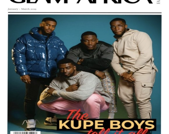 'Kupe Boys' Glam Africa Cover