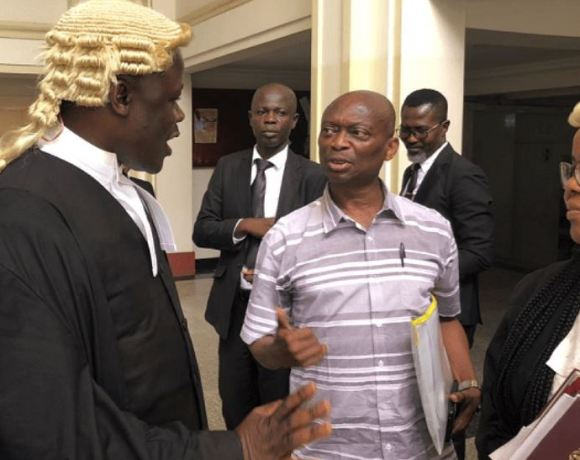 Kwaku Baako and lawyers