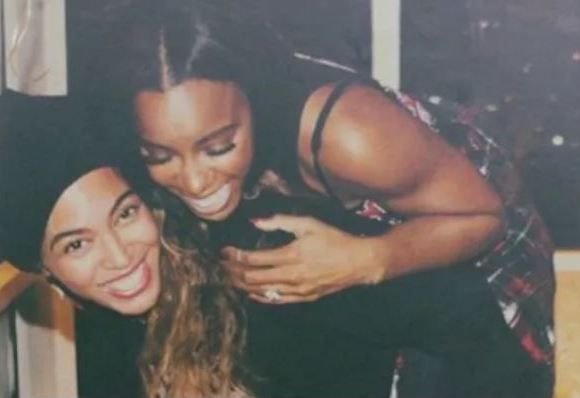 Queeen bey and Kelly Roland