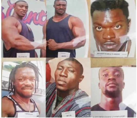The police has declared these persons wanted for the shooting and killing of a man at NDC office