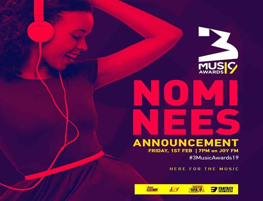 The second edition of 3Music Awards was launched yesterday