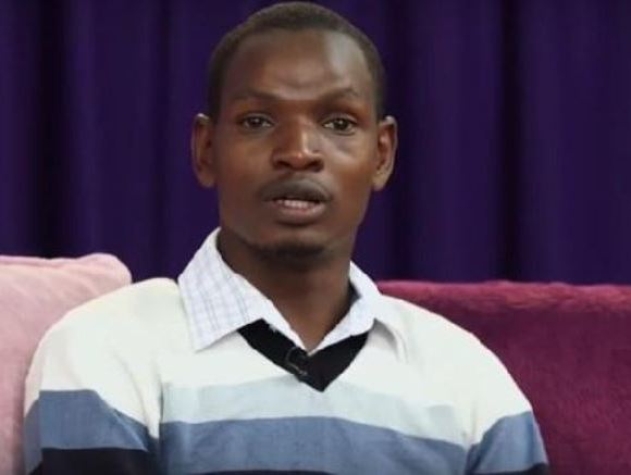 The young man confessed on Kenya-based Switch TV