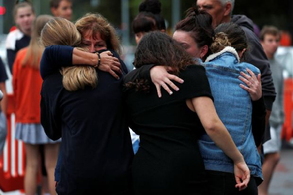 About 50 people were shot dead at two New Zealand mosques